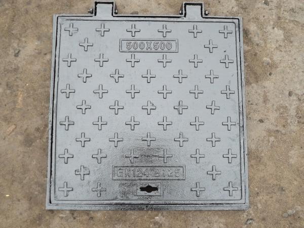 球墨鑄鐵井蓋(方型)